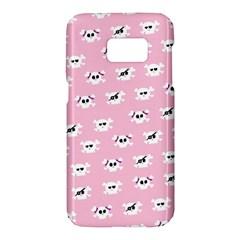 Girly Girlie Punk Skull Samsung Galaxy S7 Hardshell Case