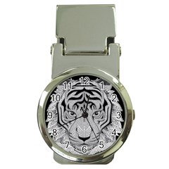 Tiger Head Money Clip Watches