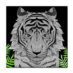 Tiger Head Face Towel
