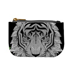 Tiger Head Mini Coin Purses