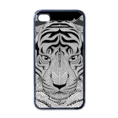 Tiger Head Apple Iphone 4 Case (black)