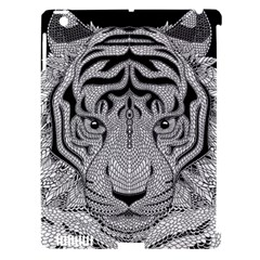 Tiger Head Apple Ipad 3/4 Hardshell Case (compatible With Smart Cover)