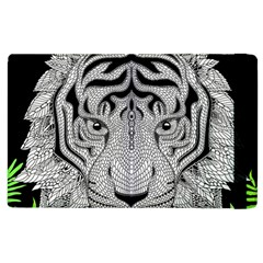 Tiger Head Apple Ipad 2 Flip Case