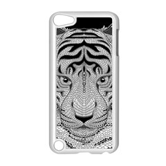 Tiger Head Apple Ipod Touch 5 Case (white)