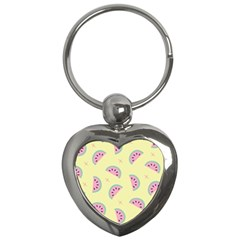 Watermelon Wallpapers  Creative Illustration And Patterns Key Chains (heart)