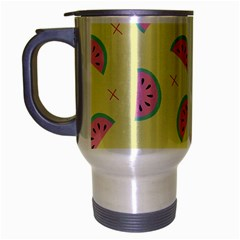 Watermelon Wallpapers  Creative Illustration And Patterns Travel Mug (silver Gray)
