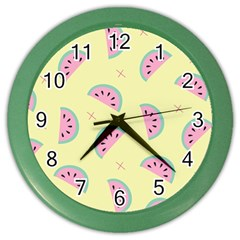 Watermelon Wallpapers  Creative Illustration And Patterns Color Wall Clocks