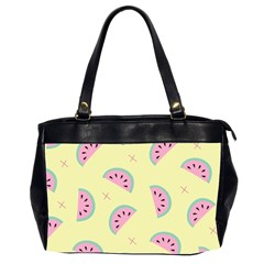 Watermelon Wallpapers  Creative Illustration And Patterns Office Handbags (2 Sides)