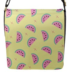 Watermelon Wallpapers  Creative Illustration And Patterns Flap Messenger Bag (s)