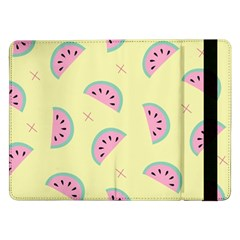 Watermelon Wallpapers  Creative Illustration And Patterns Samsung Galaxy Tab Pro 12 2  Flip Case