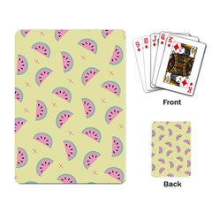 Watermelon Wallpapers  Creative Illustration And Patterns Playing Card