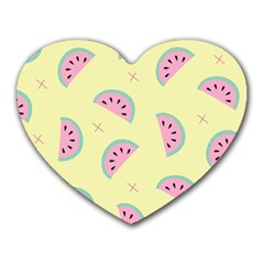 Watermelon Wallpapers  Creative Illustration And Patterns Heart Mousepads