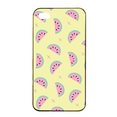Watermelon Wallpapers  Creative Illustration And Patterns Apple Iphone 4/4s Seamless Case (black)