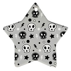 Skull Pattern Ornament (star)