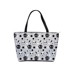 Skull Pattern Shoulder Handbags