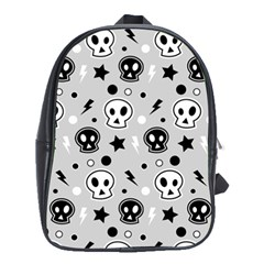 Skull Pattern School Bags(large)
