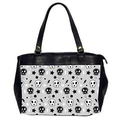 Skull Pattern Office Handbags (2 Sides)