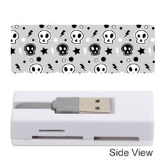 Skull Pattern Memory Card Reader (stick)
