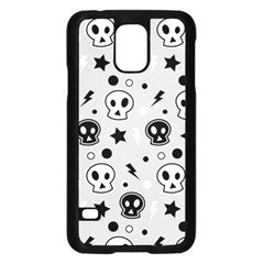 Skull Pattern Samsung Galaxy S5 Case (black)