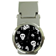 Skull Pattern Money Clip Watches