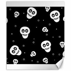 Skull Pattern Canvas 20  X 24