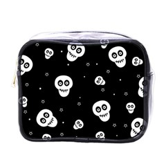 Skull Pattern Mini Toiletries Bags