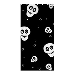 Skull Pattern Shower Curtain 36  X 72  (stall)