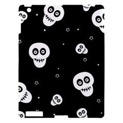 Skull Pattern Apple Ipad 3/4 Hardshell Case