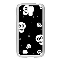 Skull Pattern Samsung Galaxy S4 I9500/ I9505 Case (white)
