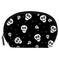 Skull Pattern Accessory Pouches (large)