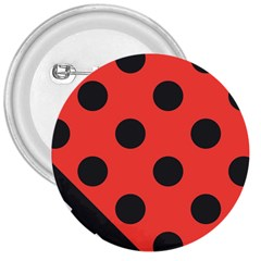 Abstract Bug Cubism Flat Insect 3  Buttons