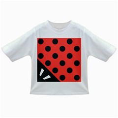 Abstract Bug Cubism Flat Insect Infant/toddler T Shirts
