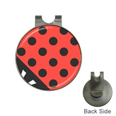 Abstract Bug Cubism Flat Insect Hat Clips With Golf Markers