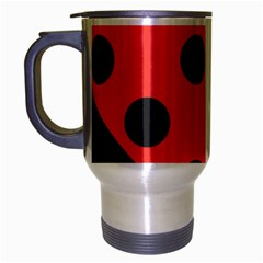 Abstract Bug Cubism Flat Insect Travel Mug (silver Gray)