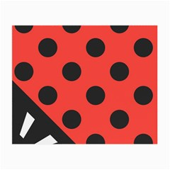 Abstract Bug Cubism Flat Insect Small Glasses Cloth (2 Side)
