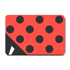 Abstract Bug Cubism Flat Insect Small Doormat