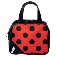 Abstract Bug Cubism Flat Insect Classic Handbags (one Side)