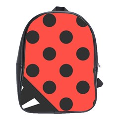 Abstract Bug Cubism Flat Insect School Bags(large)