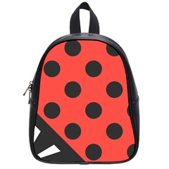 Abstract Bug Cubism Flat Insect School Bags (small)