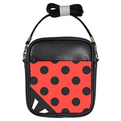 Abstract Bug Cubism Flat Insect Girls Sling Bags