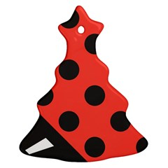 Abstract Bug Cubism Flat Insect Ornament (christmas Tree)