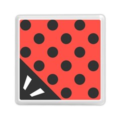 Abstract Bug Cubism Flat Insect Memory Card Reader (square)