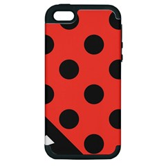 Abstract Bug Cubism Flat Insect Apple Iphone 5 Hardshell Case (pc+silicone)