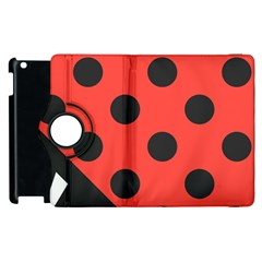 Abstract Bug Cubism Flat Insect Apple Ipad 2 Flip 360 Case