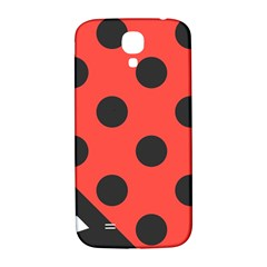 Abstract Bug Cubism Flat Insect Samsung Galaxy S4 I9500/i9505  Hardshell Back Case