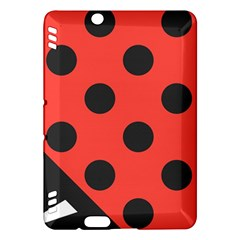 Abstract Bug Cubism Flat Insect Kindle Fire Hdx Hardshell Case