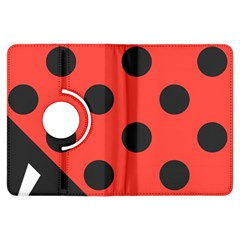 Abstract Bug Cubism Flat Insect Kindle Fire Hdx Flip 360 Case