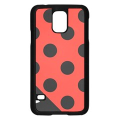 Abstract Bug Cubism Flat Insect Samsung Galaxy S5 Case (black)