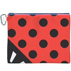 Abstract Bug Cubism Flat Insect Canvas Cosmetic Bag (xxxl)