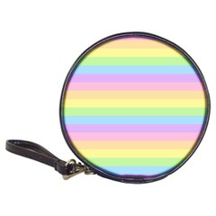 Cute Pastel Rainbow Stripes Classic 20 Cd Wallets